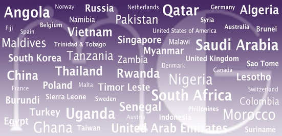 Our Client by Countries